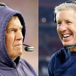 Despite separate styles, Belichick and Carroll aren't that different after all