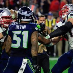 super bowl 2015 fight seahawks patriots
