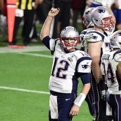 Tom Brady 2015 Super Bowl MVP New England Patriots Seattle Seahawks