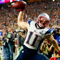 Julian Edelman leaves it all on field for New England Patriots
