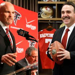 Dan Quinn and Jim Tomsula