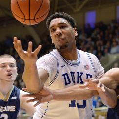 Jahlil Okafor dominated the Fighting Irish on Saturday.