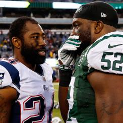 Darrelle Revis and David Harris