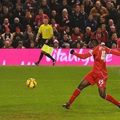 Mario Balotelli goal vs. Tottenham