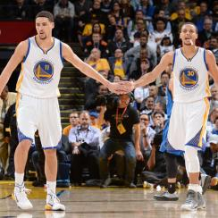 Klay Thompson; Steph Curry