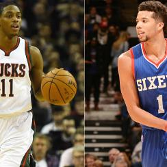 The Suns acquired Bucks point guard Brandon Knight.