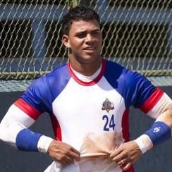 Yoan Moncada has workout with Yankees