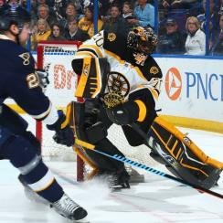 Malcolm Subban debut Bruins vs Blues