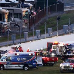 kyle busch hurt crash nascar