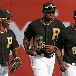 Andrew McCutchen, Gregory Polanco and Starling Marte, Pittsburgh Pirates