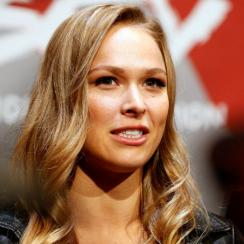 Ronda Rousey shows off her judo skills, hurts interviewer