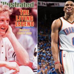 Larry Bird; Russell Westbrook