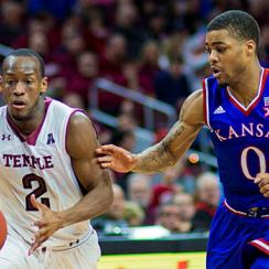 Will Cummings helped Temple rout Kansas back in December, but that win wasn't enough to get the Owls a bid.