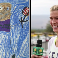 bnp paribas open federer nadal children drawings