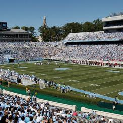 Kenan Stadium, home of the North Carolina Tar Heels