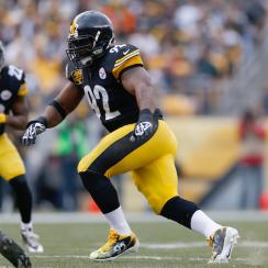 Steelers James Harrison retirement two-year contact