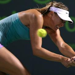 maria sharapova upset miami open