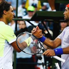 Fernando Verdasco upset Rafael Nadal in the Miami Open third round.