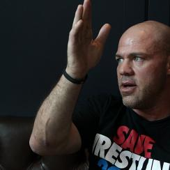 Kurt Angle talk about life after WWE
