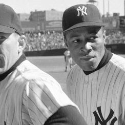 Elston Howard joined Mickey Mantle and the all-white Yankees in 1955 and became a legendary player himself.