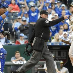 athletics royals brett lawrie ejections kelvin herrera