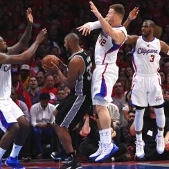Clippers defeated Spurs 107-92 in a Game 1 win in Los Angeles.