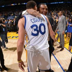 Alvin Gentry; Stephen Curry