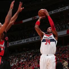 Paul Pierce Wizards Raptors Game 3