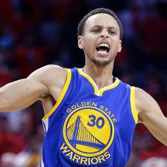 Stephen Curry scored 40 as Warriors beat Pelicans in overtime, take 3-0 series lead.