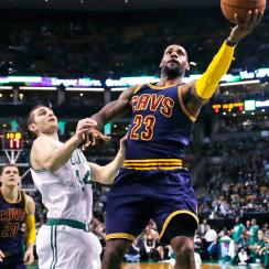 LeBron James and the Cavaliers won Game 4 to sweep the Boston Celtics.