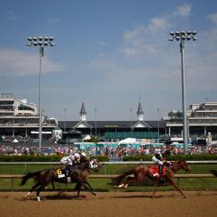 Kentucky Derby 2015 attendance record