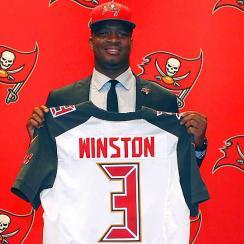 Jameis Winston Tampa Bay Buccaneers NFL draft