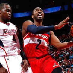 Washington Wizards John Wall out Game 2 vs Hawks