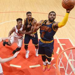 Kyrie Irving struggled in the Cavaliers' Game 3 loss against the Bulls.