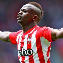 Sadio Mane Southampton hat trick