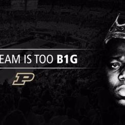 Purdue send Biggie Smalls tweet after signing Caleb Swanigan