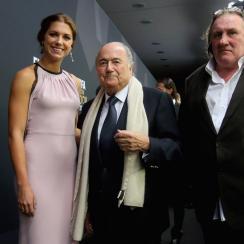 Alex Morgan says Sepp Blatter didn't recognize her.