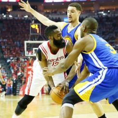 Stephen Curry outshined James Harden in Golden State Warriors' Game 3 win over Houston Rockets.