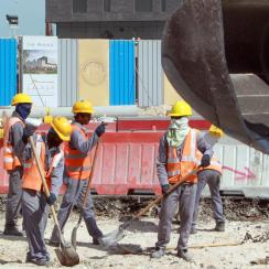 qatar world cup nepal migrant workers earthquake funerals