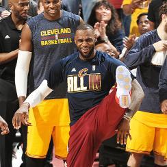 LeBron James, Cavaliers sweep Hawks to advance to NBA Finals.