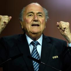 Sepp Blatter was reelected as FIFA president.