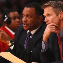 The New Orleans Pelicans tabbed Warriors' assistant Alvin Gentry as their new head coach.