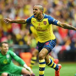 Theo Walcott Arsenal goal