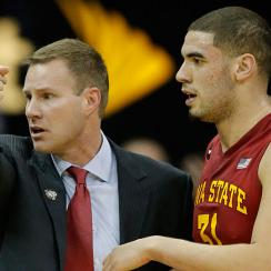 Fred Hoiberg and Georges Niang, Iowa State Cyclones