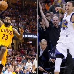 LeBron James; Stephen Curry