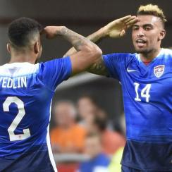 Danny Williams scored for the U.S. men's national team against the Netherlands.