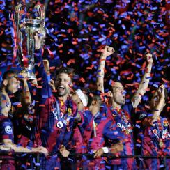 Barcelona wins Champions League final