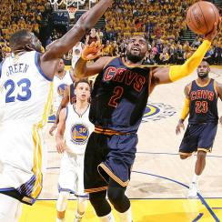 Cleveland Cavaliers have to adjust in NBA Finals against Golden State Warriors with Kyrie Irving sidelined by fractured left kneecap.