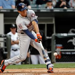 houston astros carlos correa first hit rbi video