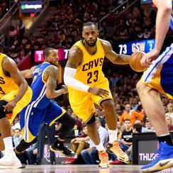 LeBron James, Cleveland Cavaliers beat the Golden State Warriors in Game 3 to take 2-1 lead in NBA Finals.